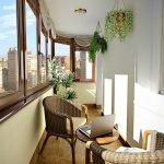 Hvileplass på balkongen