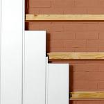 PVC panel lathing