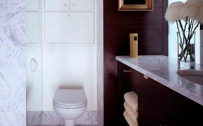 Placard de toilette