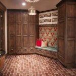 Façade d'une armoire coulissante
