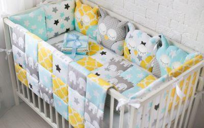 Côtés dans le berceau pour les nouveau-nés à faire soi-même