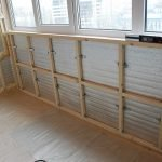 Forberedelse av balkongrommet