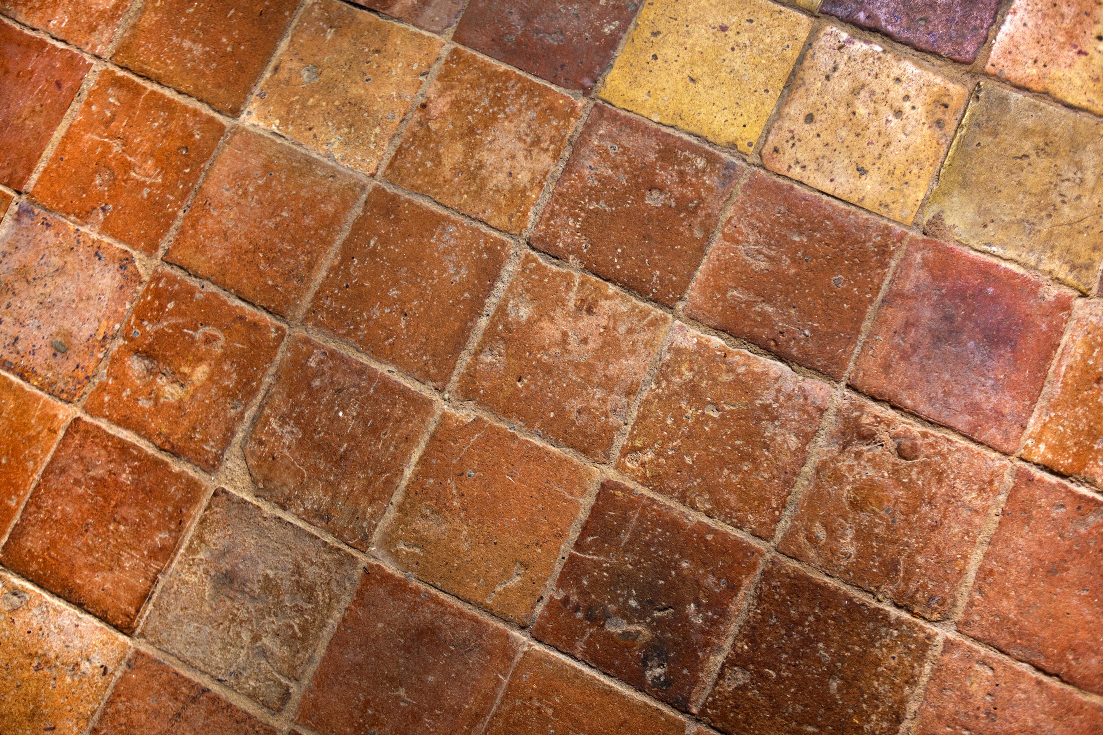 Carrelage céramique terre cuite