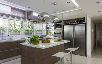 Susunan perabot di dapur