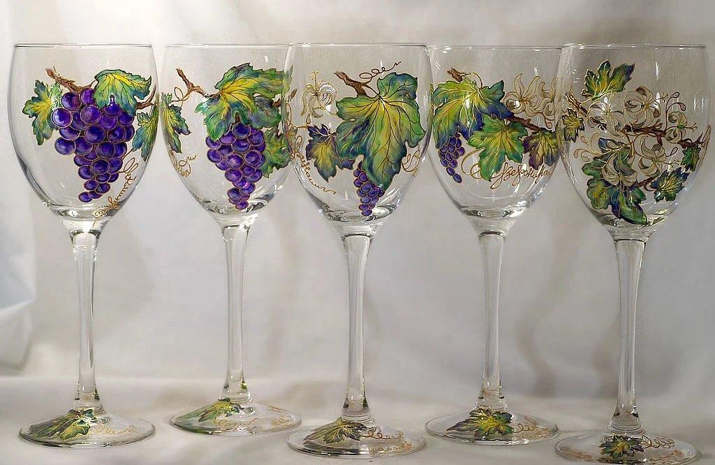 DIY glas schilderen