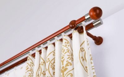Installation de rail de rideau bricolage