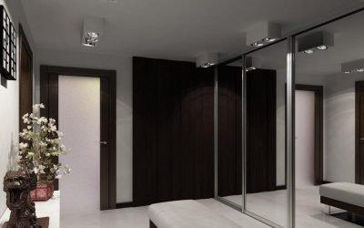 Innebygd garderobe i gangen