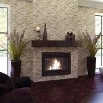 Garniture de cheminée en clinker