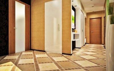Carrelage au sol dans le couloir: lequel choisir