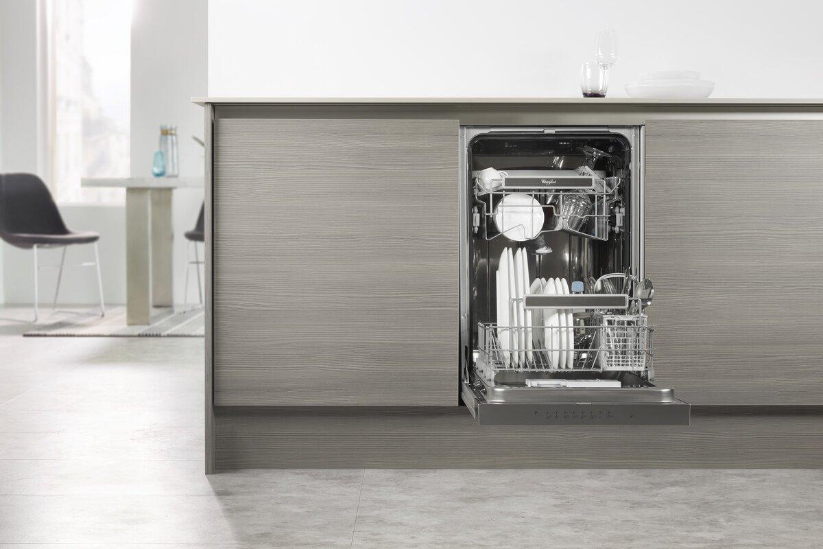 Taille du lave-vaisselle intégré