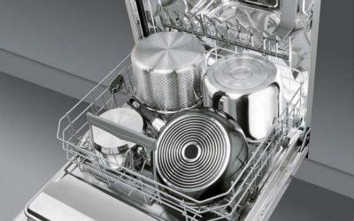 Tailles de lave-vaisselle: modèles compacts et encastrables