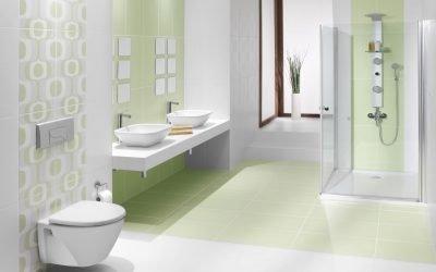 Disposition des carreaux dans la salle de bain: exemples et schémas