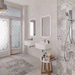 Conception de carreaux de salle de bain