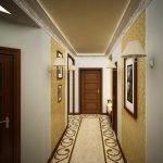 Plancher de couloir