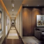 Couloir et son éclairage