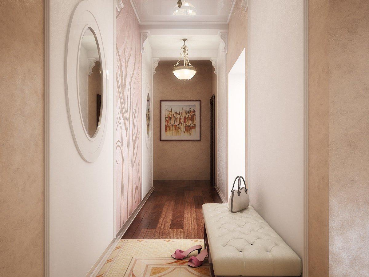 Lustre dans le couloir