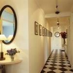 Miroir dans le couloir