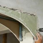 Installation de cloisons sèches