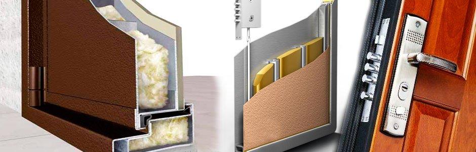 Isolation thermique et acoustique de la porte