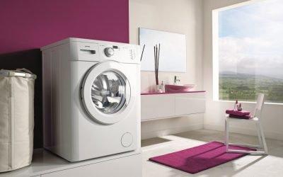 Tailles des machines à laver automatiques: dimensions