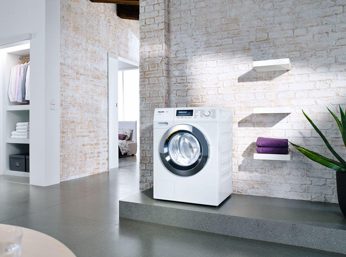 Machine à laver dans l'appartement