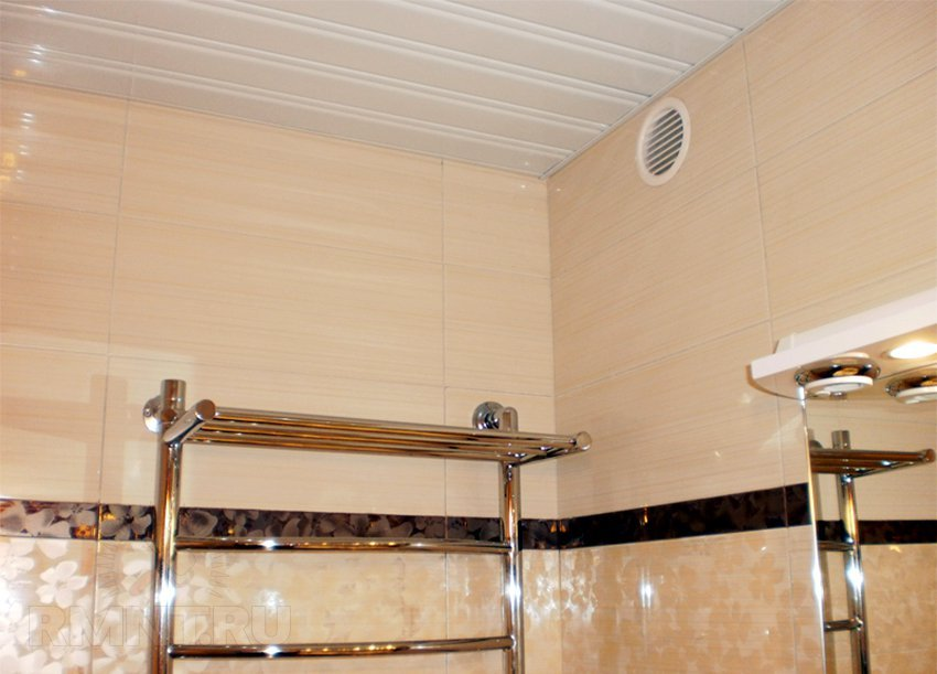 Salle de bain ventilée