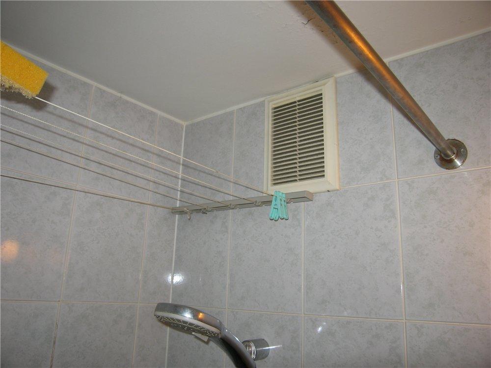 Ventilation naturelle dans la salle de bain
