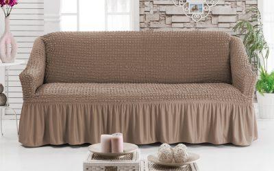 Comment coudre une housse sur le canapé: instructions étape par étape