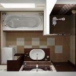 Disposition de la salle de bain