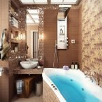 Conception de petite salle de bain