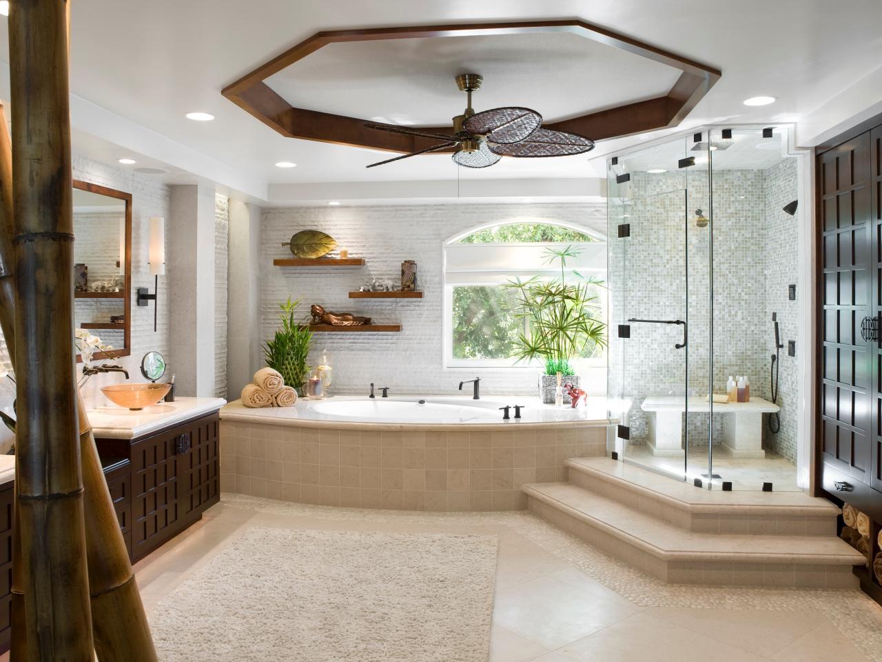 Grande salle de bain design