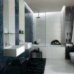 Salle de bain en gris