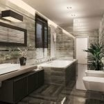 Plomberie dans la salle de bain