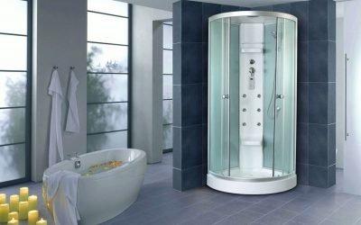 Tailles standard des cabines de douche: tailles standard et optimales