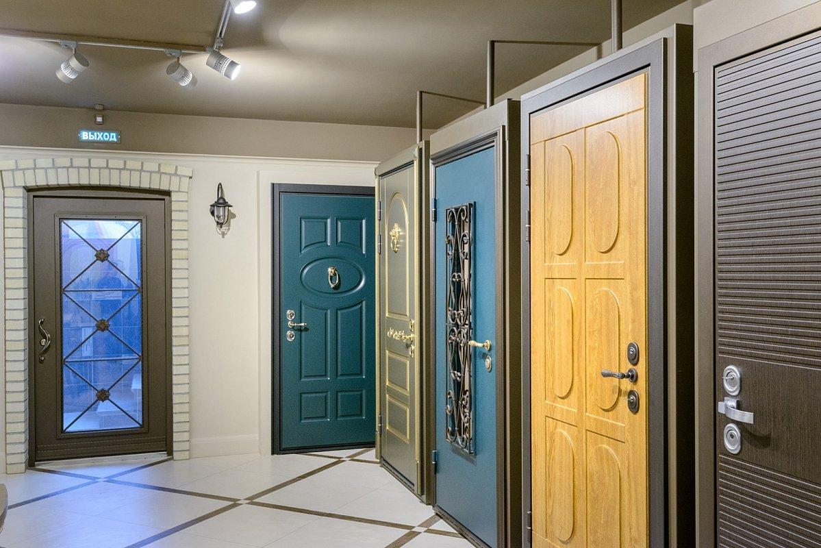 Types de portes métalliques