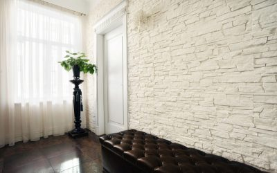 Carrelage décoratif en gypse pour pierre et brique