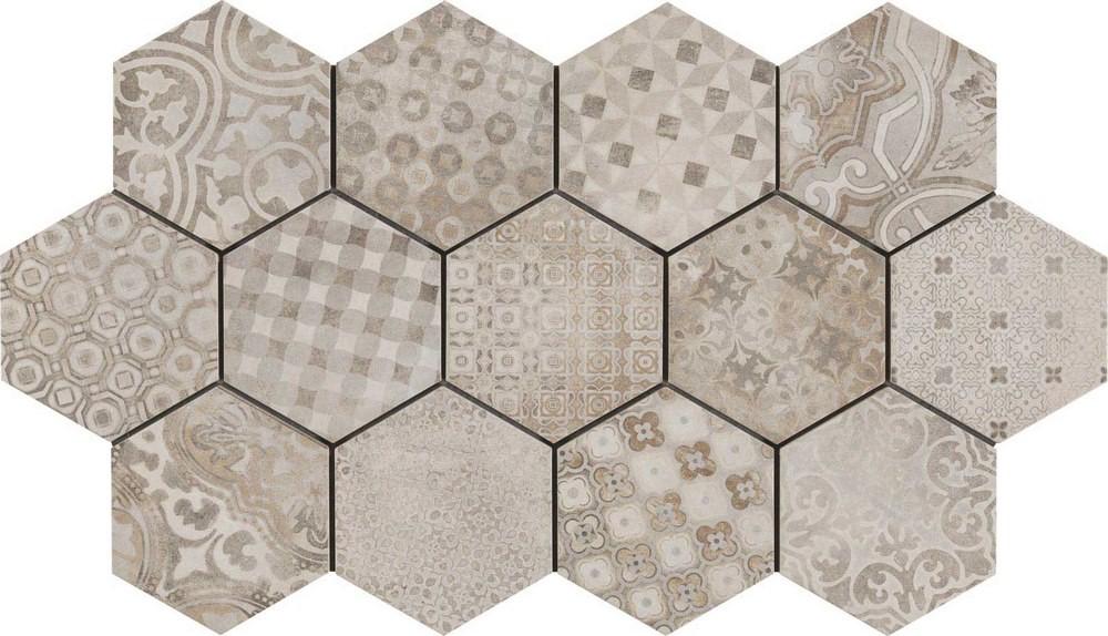 Tuile hexagonale