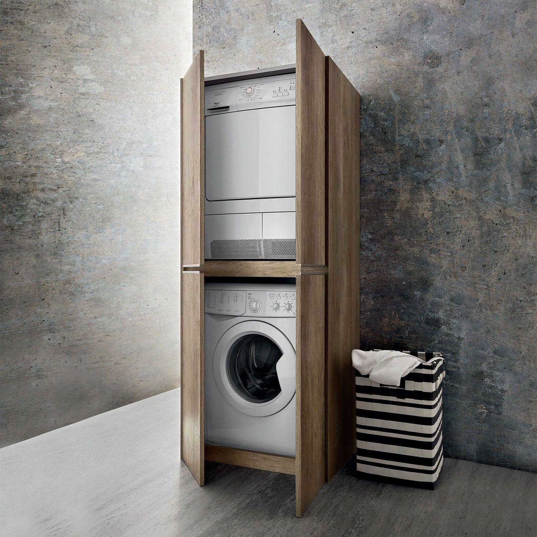 Armoire pour machine à laver