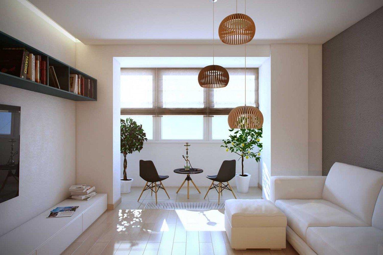 Pendel lysekrone i stuen