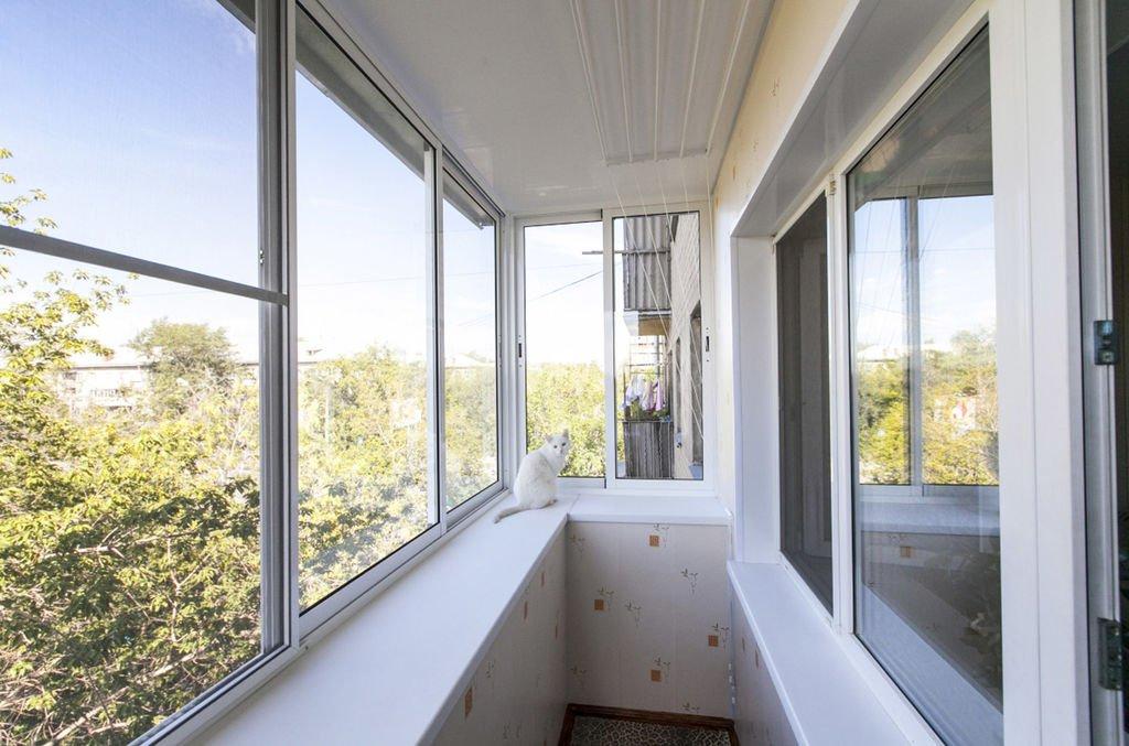 Vinduer med balkong