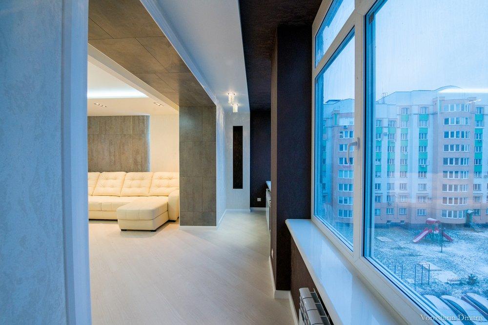Rombelysning med balkong