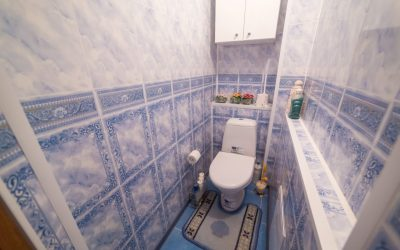 Finition des toilettes avec des panneaux en plastique: instructions étape par étape pour vous finir