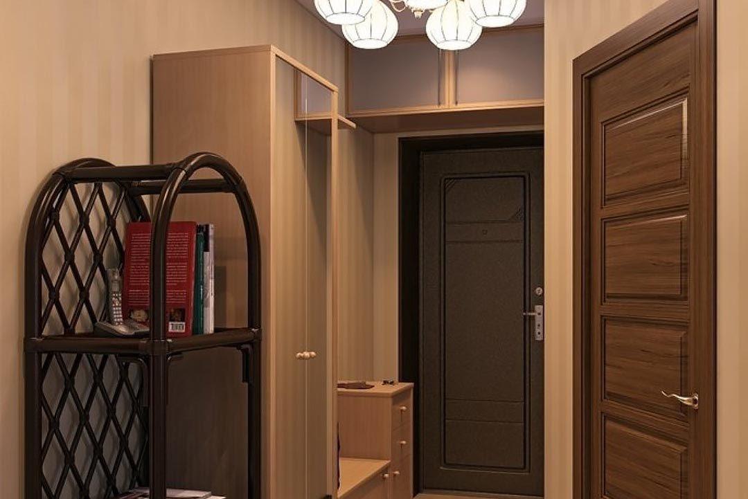 Disposition des meubles dans un couloir étroit