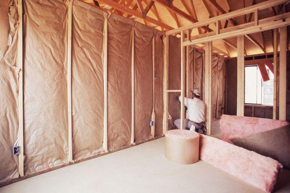 Varmeisolering av vegger inne