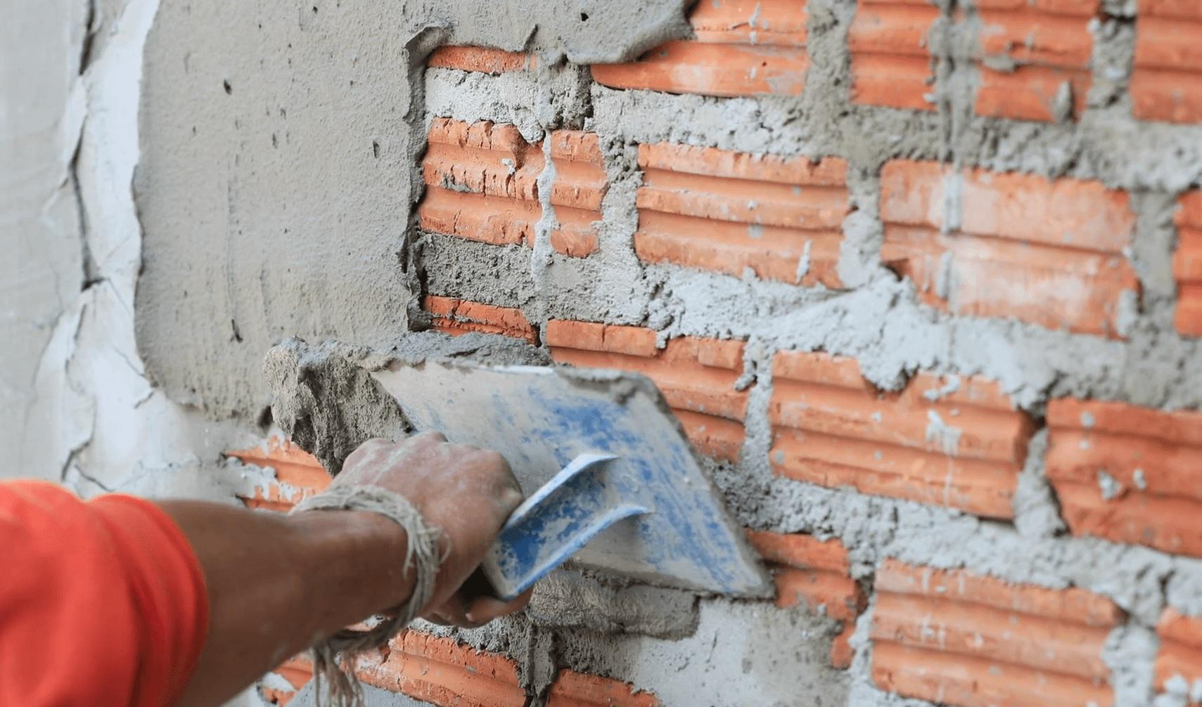 Enduit pour mur de brique