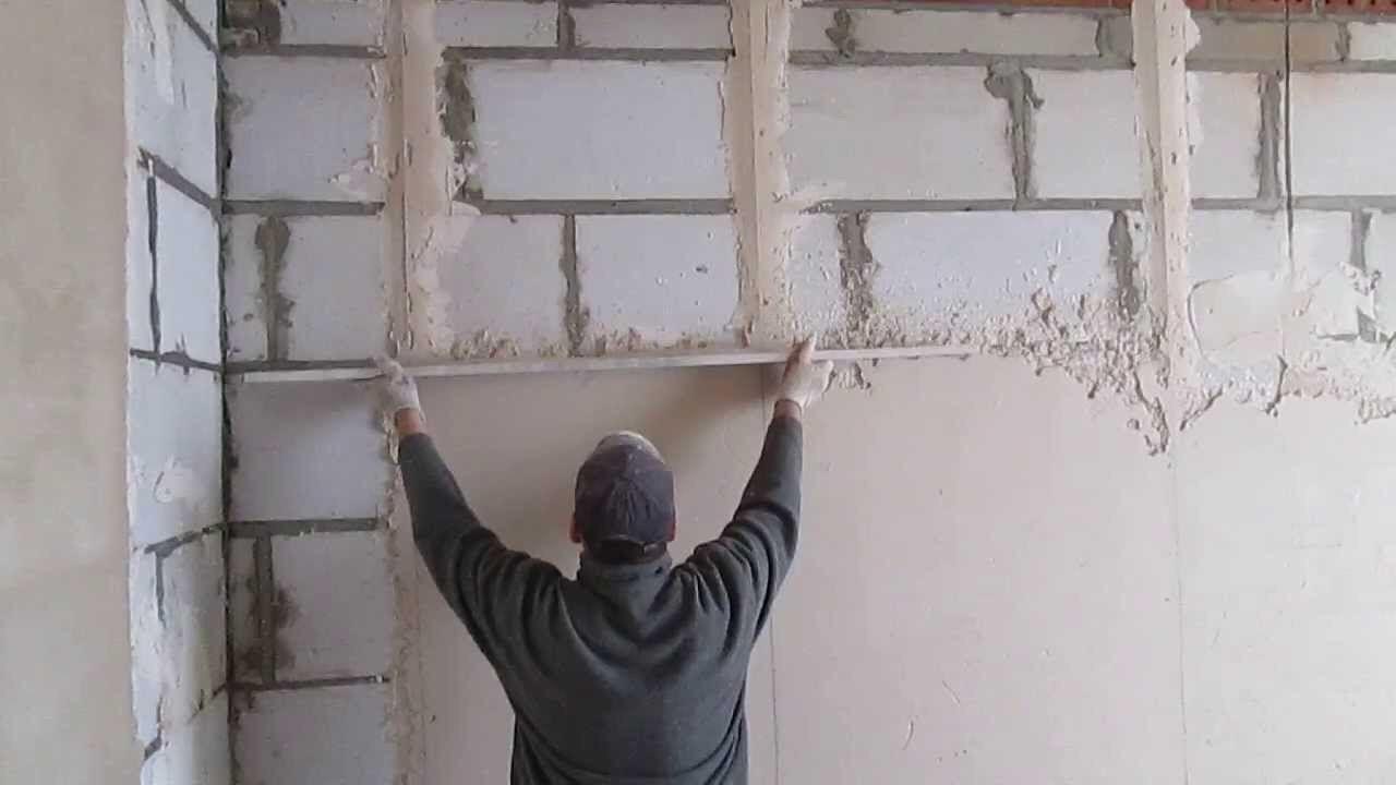 Mousse de mur en stuc