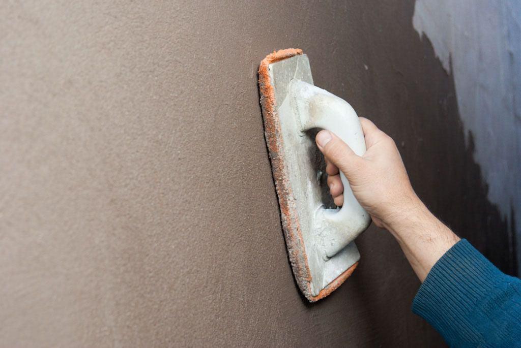 Murs en stuc sans balises