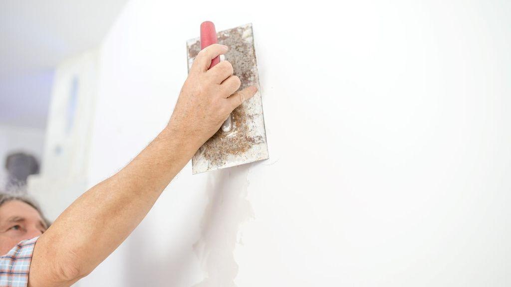 Murs en stuc pour papier peint