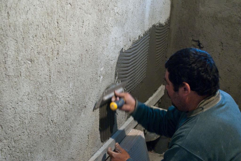 Revêtement mural en stuc