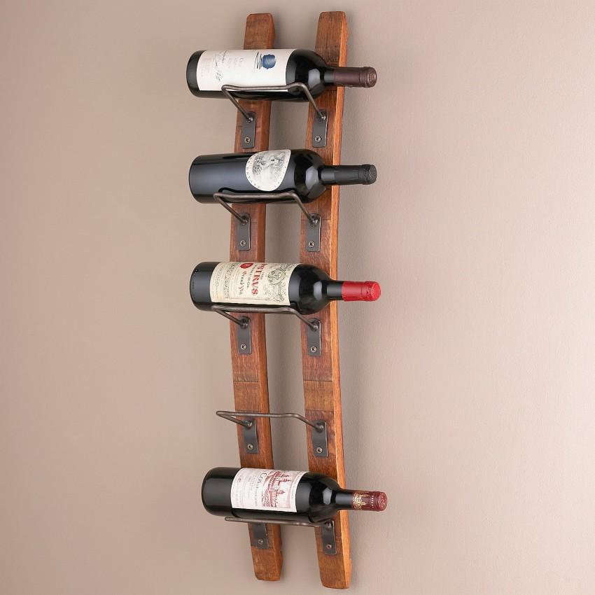Étagère à vin verticale